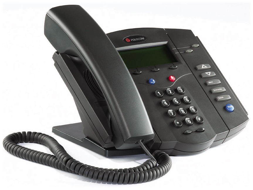 Click for large view of the SoundPoint IP 301 VoIP Telephone.