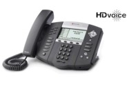 Click for large view of the SoundPoint IP 650 6-Line VoIP Telephone.